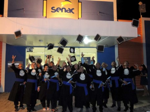 Formandos Senac.