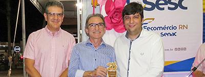 Marcelo Queiroz inaugura unidade móvel de saúde do Sesc em Currais Novos