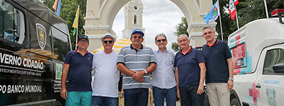 Presidente do Sistema Fecomércio RN, Marcelo Queiroz, prestigia mais uma edição da Festa de Sant'Ana, em Caicó