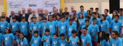 Presidente Marcelo Queiroz assina parceria com Instituto Campus Party para promover inclusão digital de alunos do Sesc