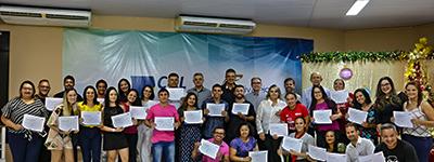Em Currais Novos, Marcelo Queiroz entrega certificados a alunos capacitados pelo PSG Empresa do Senac