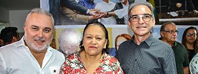 Marcelo Queiroz prestigia lançamento de revista do senador Jean-Paul Prates