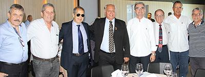 Presidente Marcelo Queiroz participa de almoço da União Norte-riograndense de Oficiais