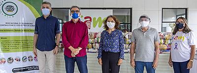 Presidente do Sistema Fecomércio RN, Marcelo Queiroz, faz entrega de mais de 15 mil cestas básicas a instituições beneficentes potiguares